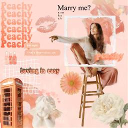 peachy peaches peach aesthetic peachaesthetic freetoedit
