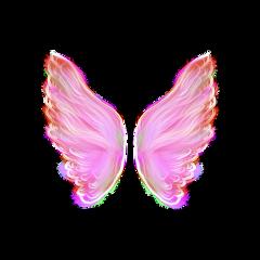 freetoedit pink wings pinkwings aestehtic