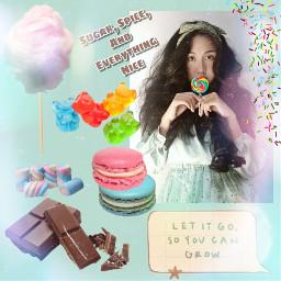 freetoedit replay candy girl lolipop