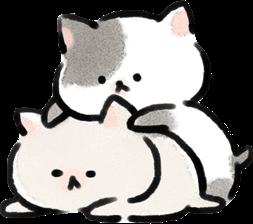 #cat #soft #softcore #fluffy #aesthetic #grey #creme #white #cute #kawaii #neko #freetoedit