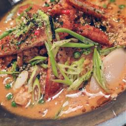 tteok soup vegan vegetarian bowlfood