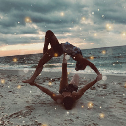 friends yoga