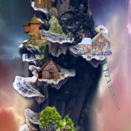 fantasyart imagination madewithpicsart editedbyme nature freetoedit