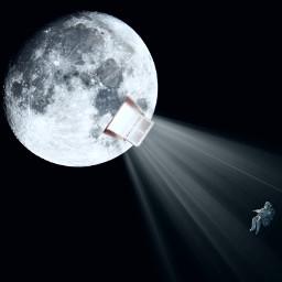 freetoedit edited light moon window