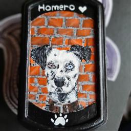 gift homer homero mydog painting freetoedit