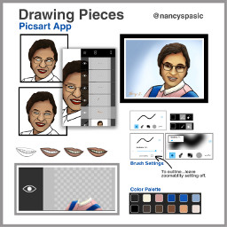 freetoedit mydrawing drawstepbystep pieces colorpallete