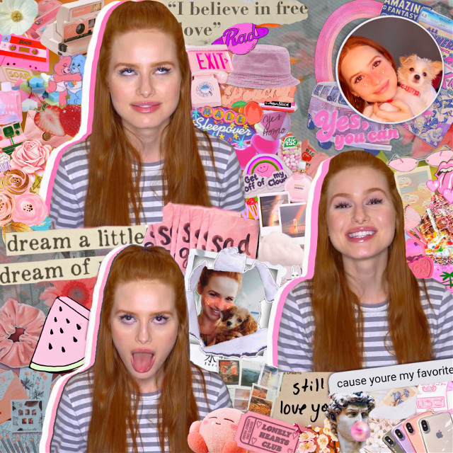 """TYSM! ❤️We're 160 followers, we're going for the 200!! 🥰🥰                                                                                                            As a thank you I bring you this complex edit of #madelainepetsch 💗💗                                                    And I also want to do a taglist..do you like the idea? ☺️   Comment """"🍭"""" to be added to the list! 💗                                                     I hope you like it the edit! 🥰                                               ~———————————~                                                       #madelainepetsch #madelaine #madelaineriverdale #madelainepetschedits #madelainepestch #madelame #riverdale #riverdaleedits #cherylblossom #cherylbomshell #cherylblossomedit #cherylriverdale  #freetoedit"""