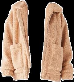 teddybear bear teddy jacket brown freetoedit