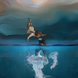 freetoedit kiss myedit fantasy art