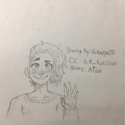 oc drawing sketch character