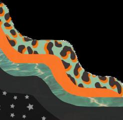 interesting vsco summer leopard waves freetoedit