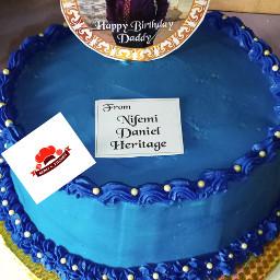 acakefordaddy cakeorderedbydaddy'slittlegirl ogijobaker yummyvanillacake cakesinogijo