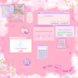 aesthetic computer gamergirl error freetoedit