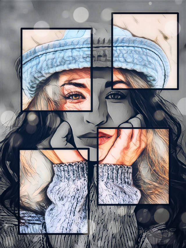 Image from @freetoedit #editedstepbystep #drawtools #magiceffect #artisticportrait #madewithpicsart
