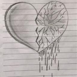 interesting art draw mydraw heart