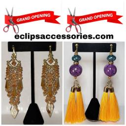 eclipsaccessories clipons cliponearrings earrings earringaddiction