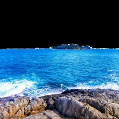 море вода камни пляж freetoedit