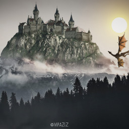 freetoedit vipaziz palace mountain clouds