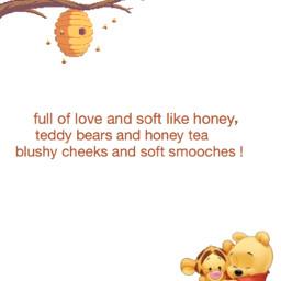 winniethepooh tigger honey bees hug freetoedit