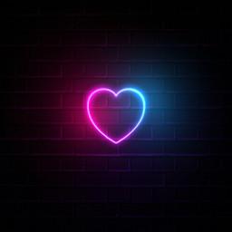 freetoedit background heartstickers heart neon ftestickers