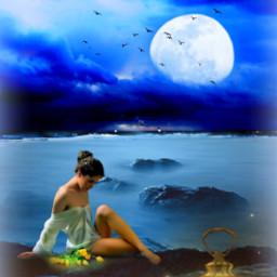 freetoedit ocean sea beach woman