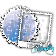 freetoedit sticker frame blue white