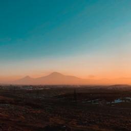 freetoedit armenia ararat mountain landscape