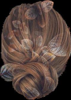 hair leaves autumunalspirits fallhair freetoedit