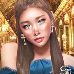 kpop chungha manip manipulation queen freetoedit