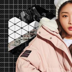 freetoedit aesthetic chungha kpop lockscreen