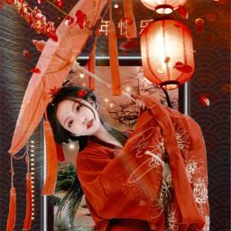 freetoedit chinagirl china chinanewyear ircchinesenewyear chinesenewyear