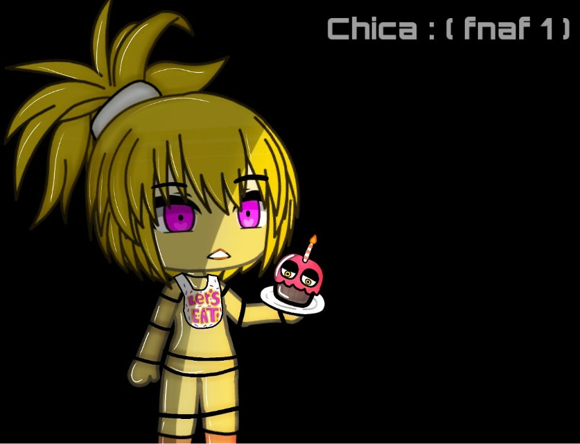 this took so long! But its finally done!! #fnaf #fnafoc #fnafhschica #fnafedit