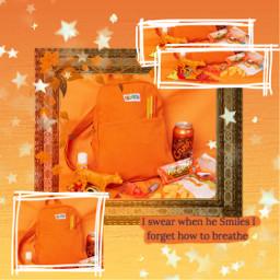 orange orangeaesthetic bag oranges aesthetic freetoedit
