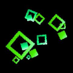 geometric kpop green freetoedit