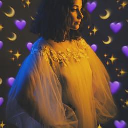 freetoedit girls purple💜 moon purple