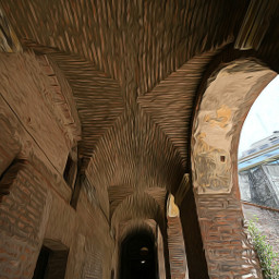 oldbuilding oldarchitecture wideangle ilumination arches