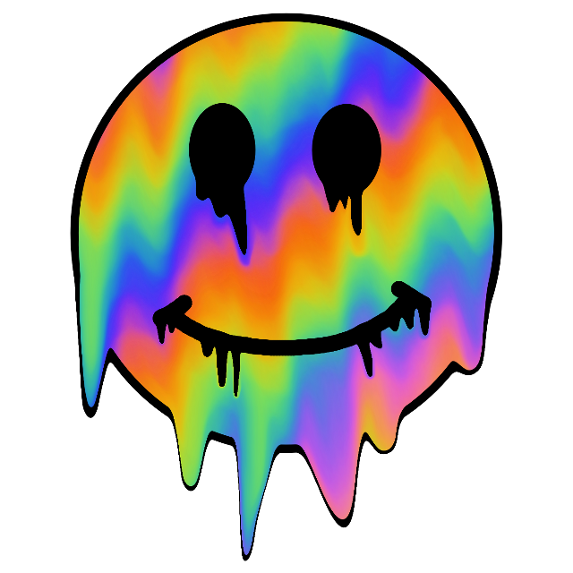 #smile #trippy #grunge #rainbow #freetoedit