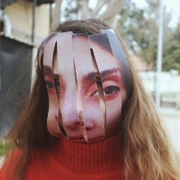 portrait art abstract