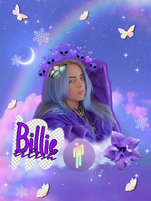 💜my friend likes #billieellish so I made this💕