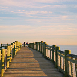 freetoedit outdoorphotography pier leadinglines goldenhour