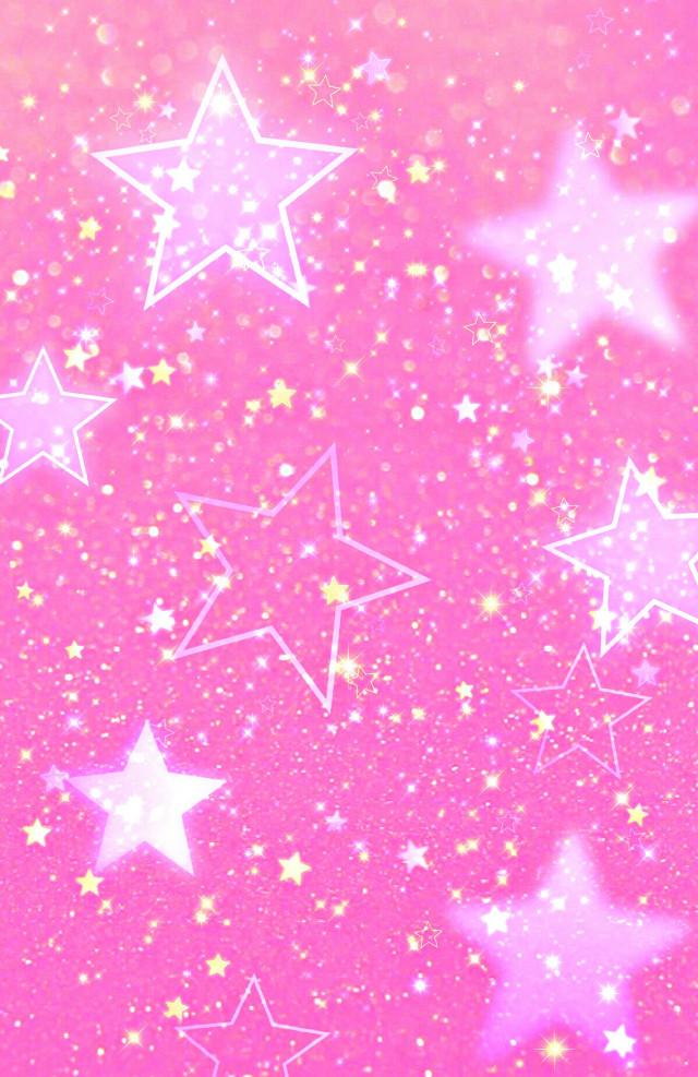 #freetoedit #rosa #estrellas #glitters