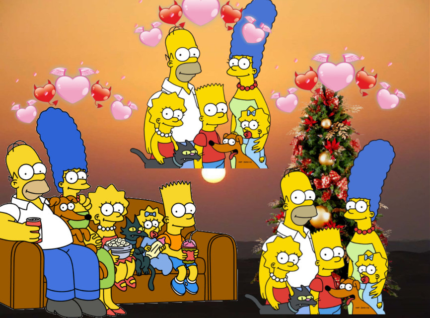 Who doesnt love the  Simpsons??❤️#Simpsons❤️ #freetoedit