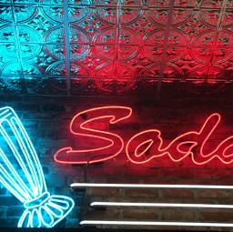 aesthetic lights neon soda girlsnightout