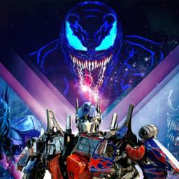 freetoedit venom optimusprime transformers venommovie