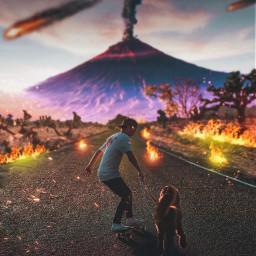 interesting creative be volcano creator freetoedit
