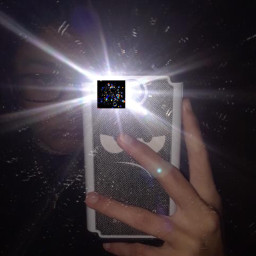 freetoedit rainbow lightbulb dirtymirror phone