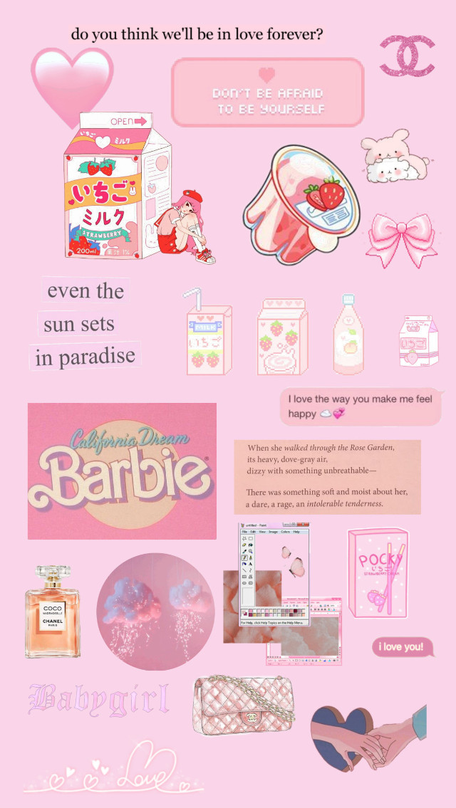 p i n k (if you repost/edit plz give credit to me) #freetoedit #pink #wallpaper #barbie #cute #colorful