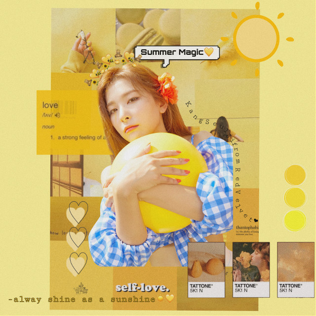 #freetoedit  #seulgi #kangseulgi #seulgiredvelvet #seulgibear   Seulgi yellow edit🥺🐻💛~  My friend complimented this and made me feel confident again☺️❤️I promise I'll try to be a hard editor,thank u all so much for away support me however I became lazy😔🥺❤️ ~Who remember which day will be Seulgi's birthday?;)It's so close😊🥳💛~