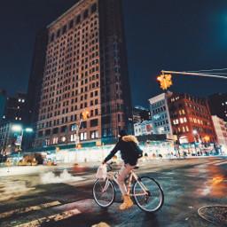 newyork ny manhattan bike bikeride freetoedit
