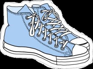aesthetic softboy grunge shoes blue freetoedit